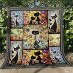 Cat ML150704 Quilt Blanket