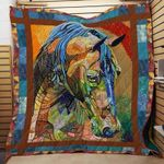 Horse CLH1111345Q Quilt Blanket