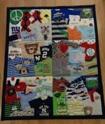 Baby Shirt CLT0811015H Quilt Blanket