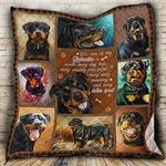 Love Of Rottweiler CLA0810326Q Quilt Blanket