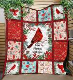 Bird Northern Cardinal Quilt CL16110058MDQ Quilt Blanket