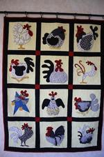 Chicken CLM0910033 Quilt Blanket
