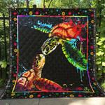 Turtle LI120706A Quilt Blanket