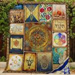 Jewish CLA0810311Q Quilt Blanket
