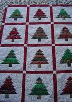 Christmas Tree CLA1810163Q Quilt Blanket