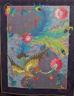 Peacock CLA1710440Q Quilt Blanket