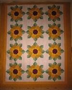 Sunflower CLA2310459Q Quilt Blanket