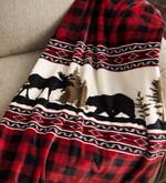 Lodge Moose Bear CLM2709069S Sherpa Fleece