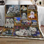 West Highland White Terrier CL10100251MDF Sherpa Fleece Blanket