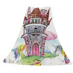 Castle Unicorn Printed Rectangle CLA1910060F Sherpa Fleece Blanket