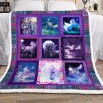 Unicorn YH25100036F Sherpa Fleece Blanket