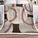 Baseball ML011011F Sherpa Fleece Blanket