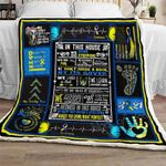 In This House We Do Down Syndrome CLA16110773F Sherpa Fleece Blanket
