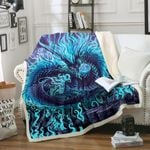 Dragon HM270834F Sherpa Fleece Blanket