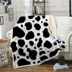 Dairy Cow CLP2810026TT Sherpa Fleece Blanket