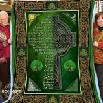 An Irish Blessing CLA01110266F Sherpa Fleece Blanket