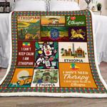 Ethiopia YH3110506F Sherpa Fleece Blanket