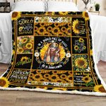 In A World Full Of Roses Be A Sunflower CL180949MDF Sherpa Fleece Blanket