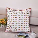Bird CLM0411016P Handmade Pillowcase