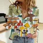 Mushroom Cotton And Linen Casual Shirt HM120401