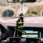 Firefighter CL170410 Car Hanging Ornament