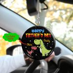 Happy Father's Day HN170403 Car Hanging Ornament