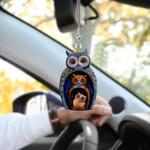Owl Family HN200412 Car Hanging Ornament