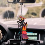 Witch HM220429 Car Hanging Ornament