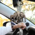 Elephant Family HN230401 Car Hanging Ornament