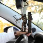 Bow Hunter HN260403 Car Hanging Ornament