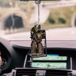 Ironworker Thing HN270403 Car Hanging Ornament