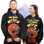 Get Back Witch - Couple Hoodie