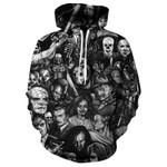 Hot Sale Skull 3d Hoodie