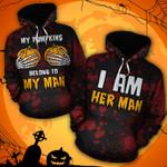 Belongs To My Man - Couple Hoodie