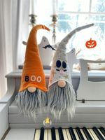 Pair of Halloween gnomes