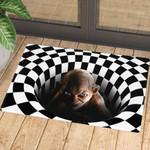 Gollum Illusion Doormat
