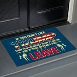 If You Don't Like Trump - Leave Doormat
