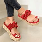 Women Slip-On Orthopedic Platform Sandals