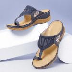 FleekComfy™ Premium Embroidery Orthopedic Sandals