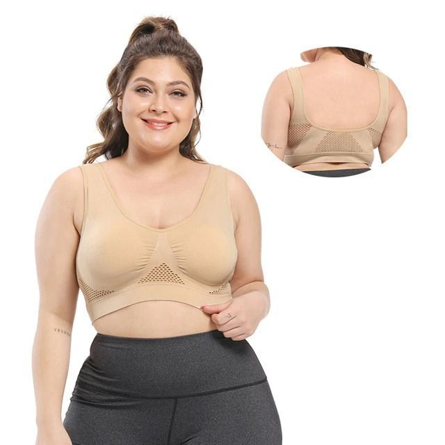 ONFLEEK™ 2-IN-1 Breathable Wireless Comfy Daily Sport Bra