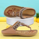 FleekComfy™ Flower Print Soft Beach Sandals