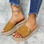 #1 Trending - Paris High Heels Flatform Summer Sandals