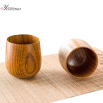 Japanese Style Natural Wooden Cup