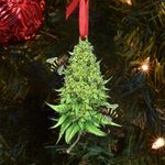 Weed Bee Ornament