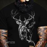 Hunting Smoke em' Smoke Deer Graphic Unisex T Shirt, Sweatshirt, Hoodie Size S - 5XL