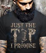 Hunting Just A Tip I Promise Bow Hunter Graphic Unisex T Shirt, Sweatshirt, Hoodie Size S - 5XL