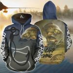 Fishing Carp Fishing, Gone Fishing 3D All Over Printed Shirt, Sweatshirt, Hoodie, Bomber Jacket Size S - 5XL
