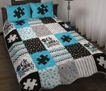 Autism it's oke to be different Quilt Bedding Set