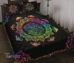Mushrooms Mandala Quilt Bedding Set