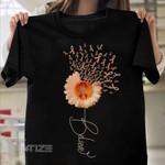 Leukemia Awareness Graphic Unisex T Shirt, Sweatshirt, Hoodie Size S - 5XL